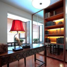 140平米以上東南亞風格三居室東南亞書房設計效果圖