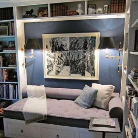 卧室书房一体装修设计效果图大全