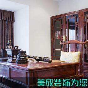 中式书房中式风格书房装修图片中式风格书柜图片装修效果图