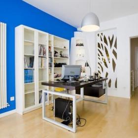 40㎡樓房40平米現代風格書房吊頂裝修圖片現代風格書柜圖片裝修效果圖