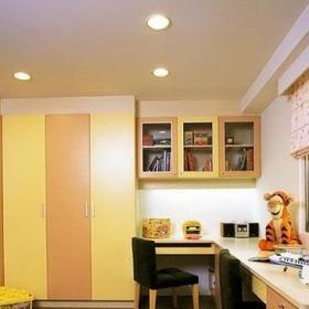 簡約風格二居室5-10萬80平米書房書桌婚房家裝圖效果圖
