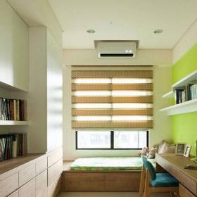 120平米三居室混搭風格混搭溫馨書房設計效果圖
