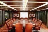 公司會議室實木會議桌效果圖