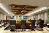 公司会议室布置效果图欣赏效果图