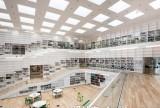 知识的螺旋体—达拉那大学多媒体图书馆装修效果图