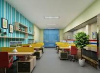 现代风格幼儿园办公室布置效果图-现代风格办公家具图片