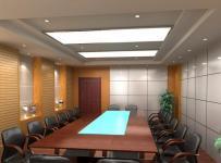 公司会议室装修效果图片效果图