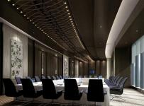 五星大酒店會議室裝修效果圖