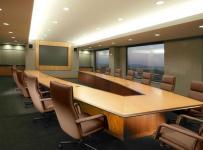公司会议室室内设计图案例效果图