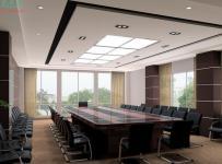 公司室内会议室案例图片效果图