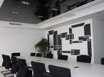 公司会议室室内装饰效果图片效果图