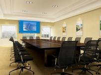 公司会议室装修室内图片效果图