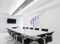 简约公司会议室图片效果图
