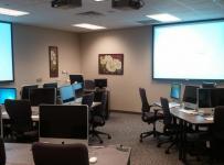 公司多媒体会议室图片效果图