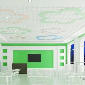 幼儿园教室窗户装修设计效果图
