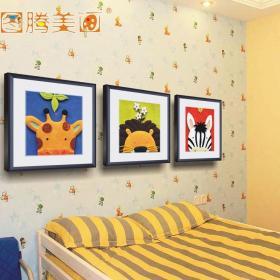 幼儿园墙壁装饰画效果图