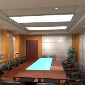 公司會議室裝修效果圖片效果圖