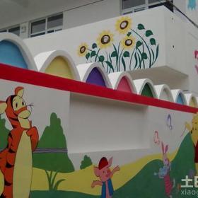 幼兒園手繪外墻設計圖片效果圖