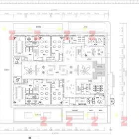 禹州大學城旁幼兒園平面設計裝修效果圖