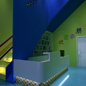 混搭幼儿园室内环境布置装修效果图
