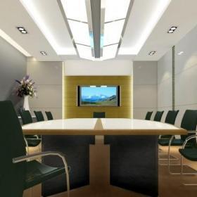 公司會議室裝修效果圖
