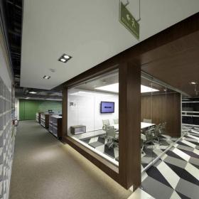 设计公司会议室装修效果图