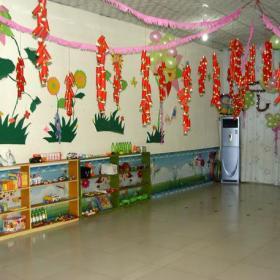 吊飾布置環境布置主題墻工裝墻面裝飾置物架幼兒園裝飾圖片效果圖大全