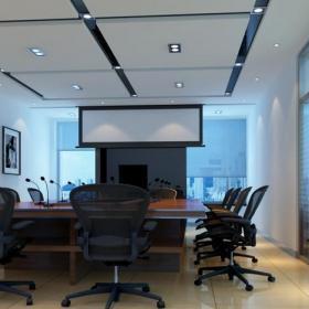 公司会议室设计室内效果图
