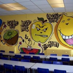 幼儿园教室墙壁布置装饰图片效果图