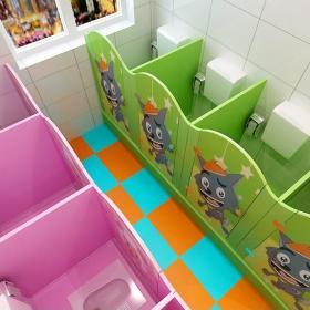 幼儿园卫生间装修装饰图片大全效果图大全