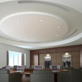 現代風格圓形辦公會議室效果圖大全