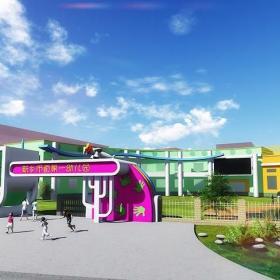 幼兒園大門設計裝修效果圖