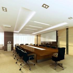 公司多媒體會議室布置效果圖