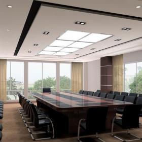 公司室內會議室案例圖片效果圖