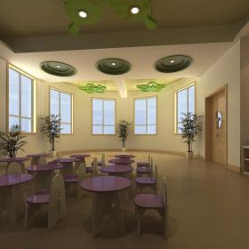 幼兒園環境布置吊飾裝修設計圖效果圖大全
