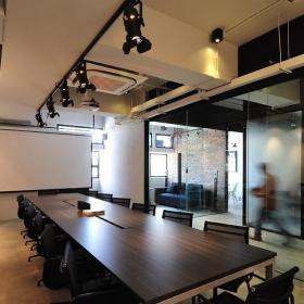 現代會議室設計效果圖