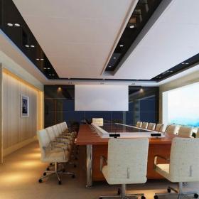 公司會議室裝飾案例圖片效果圖