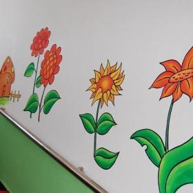 幼儿园楼梯墙壁画效果图
