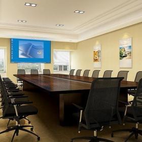 公司會議室裝修室內圖片效果圖