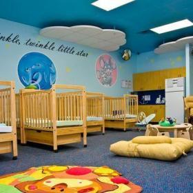 实木幼儿园床图片效果图大全