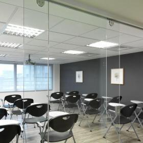 辦公會議室吊頂裝修效果圖大全