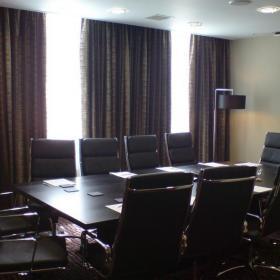 辦公室會議室窗簾效果圖