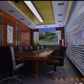 公司会议室装修图效果图