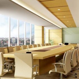 公司會議室室內設計裝修效果圖