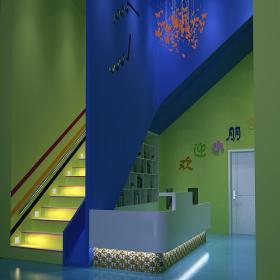 混搭风格幼儿园室内环境布置效果图