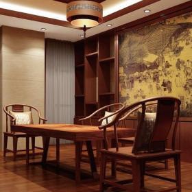 中式會議室設計裝飾圖片效果圖