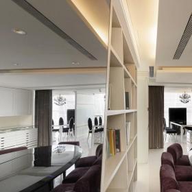 黑鏡反射大會議室空間_1498090裝修效果圖