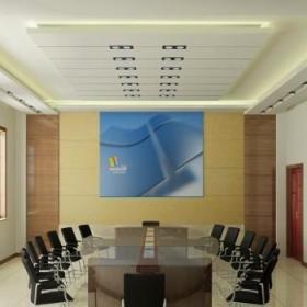 中型会议室装修效果图