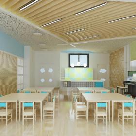 幼兒園中班教室布置設計圖大全效果圖大全