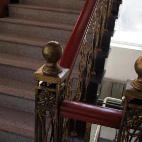 消防队二队荣誉室、会议室、音乐室、走廊改造装修效果图